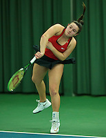 Rotterdam, The Netherlands, March 18, 2016,  TV Victoria, NOJK 14/18 years, Gabrielle Moejan (NED)<br /> Photo: Tennisimages/Henk Koster