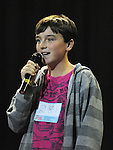 Luke Tuohy St Mary's Dundalk performing in the School Stars auditions in the TLT Drogheda. Photo: Colin Bell/pressphotos.ie