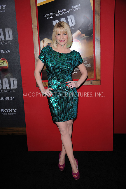 WWW.ACEPIXS.COM . . . . . .June 20, 2011...New York City... Carrie Keagan attends the premiere of 'Bad Teacher' at the Ziegfeld Theatre on June 20, 2011 in New York City.....Please byline: KRISTIN CALLAHAN - ACEPIXS.COM.. . . . . . ..Ace Pictures, Inc: ..tel: (212) 243 8787 or (646) 769 0430..e-mail: info@acepixs.com..web: http://www.acepixs.com .