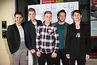 Collabro arriving for the Amy Childs clothing collection  3rd birthday party, London. 27/10/2014 Picture by: James Smith / Featureflash