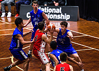 Action from the 2017 national under-19 basketball championship tournament women's final between Canterbury and Auckland at The North Shore Events Centre in Hillcrest, Auckland, New Zealand on Tuesday, 6 June 2017. Photo: Dave Lintott / lintottphoto.co.nz