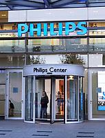 Nederland Amsterdam - 2019.  Amstelkwartier. Kantoor van Philips. Philips Center.   Foto Berlinda van Dam / Hollandse Hoogte