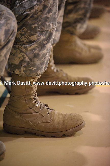 A Deployment Farewell Ceremony for the Iowa National Guard 361st Medical Logistics Company. The ceremony was held Saturday at the Southeast Polk's Spring Creek Elementary gym. http://tinyurl.com/lfkjfrh