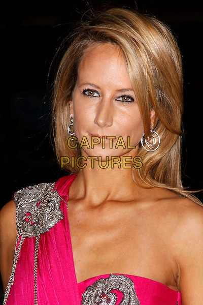 Lady Victoria Hervey.The Fashion for the Brave fundraising event inn aid of the British Forces Foundation & the Household Cavalry Operational Casualties Fund, Dorchester Hotel, London, England..September 20th, 2012.headshot portrait pink silver one shoulder.CAP/AH.©Adam Houghton/Capital Pictures.