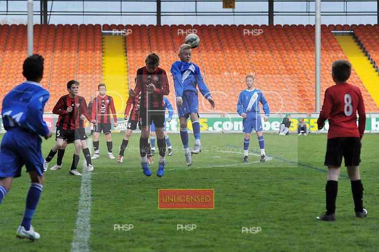 10/05/2015 B&DYFL Hogan Cup Final 2015 U-12 BJFF Blades v Poulton FC