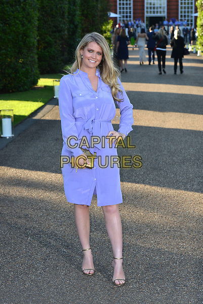 Lady Kitty Spencer (daughter of Earl Spencer)<br /> Vogue Ralph Lauren Wimbledon summer cocktail party, Kensington Palace Orangery, Kensington Palace, London England 22nd June 2015.<br /> CAP/PL<br /> &copy;Phil Loftus/Capital Pictures