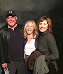 NOW in the finals  - 1 of 4 plays competing for $1000 winner take all on March 31 and April 1 - An Original play Breathing Under Dirt starring Beth Chamberlin and coming to see the show are Ron Raines and Maureen Garrett on March 17, 2016 at the Manhattan Repertory Theatre, New York City, New York.  (Photo by Sue Coflin/Max Photos)