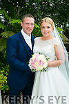 Lorraine OMahony, Ballylonford, daughter of Finbarr and Carmel O'Mahony, and Kieran Lynch, son of Paddy and Mary Lynch, were married at St. Michael's Church, Ballylonford, by Fr. Padraig Kennelly on Saturday 16th July 2016 with a reception at Ballygarry House hotel