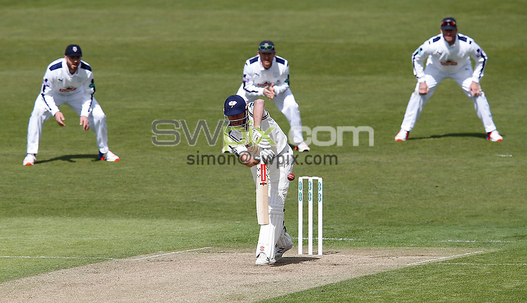 Picture by John Clifton/SWpix.com - 17/04/2016 - Cricket - Specsavers County Championship Division One - Yorkshire CCC v Hampshire CCC, Day 1 - Headingley Cricket Ground, Leeds, England - Jonny Bairstow of Yorkshire