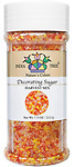 10463 Nature's Colors Harvest Mix Decorating Sugar, Tall Jar 7.5 oz