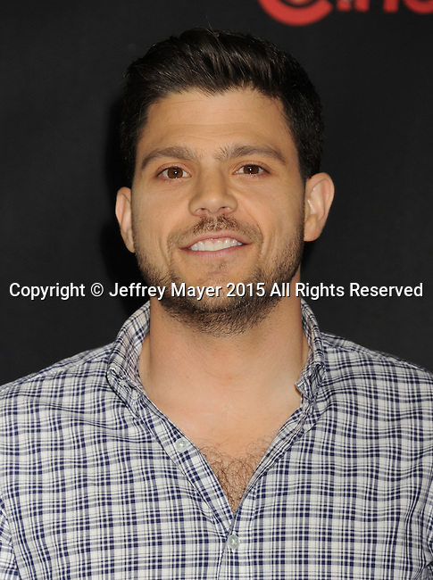 LAS VEGAS, CA - APRIL 21: Actor Jerry Ferrara arrives at Warner Bros. Pictures Invites You to ?The Big Picture at The Colosseum at Caesars Palace during CinemaCon, the official convention of the National Association of Theatre Owners, on April 21, 2015 in Las Vegas, Nevada.