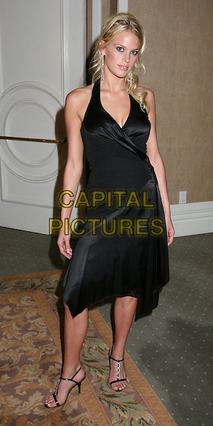 "LOTTI BLUEMNER.The 16th Annual ""Night of 100 Stars"" Oscar Gala, Beverly Hills, California, USA.March 5th, 2006.Photo: Byron Purvis/AdMedia/Capital Pictures.Ref: BP/ADM.full length black dress .www.capitalpictures.com.sales@capitalpictures.com.© Capital Pictures."