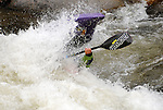 June 5, 2009:  Women's Freestyle Kayak completion at the Teva Mountain Games, Vail, Colorado.