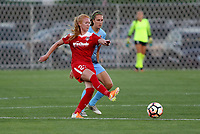 Piscataway, NJ - Friday August 4, 2017: Game action during a regular season National Women's Soccer League (NWSL) match between Sky Blue FC and the Washington Spirit at Yurcak Field.  Sky Blue took the early lead, but gave up four second half goals to drop a 4-1 decision to Washington.