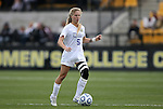 04 December 2011: Duke's Kaitlyn Kerr. The Stanford University Cardinal defeated the Duke University Blue Devils 1-0 at KSU Soccer Stadium in Kennesaw, Georgia in the NCAA Division I Women's Soccer College Cup Final.