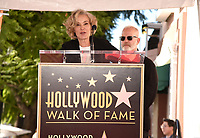 HOLLYWOOD, CALIFORNIA - DECEMBER 4: Jessica Lange and Ryan Murphy attend a ceremony honoring Ryan Murphy with a star on The Hollywood Walk of Fame on December 4, 2018 in Hollywood, California. (Photo by Frank Micelotta/Fox/PictureGroup)