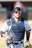 Austin Romine - Phoenix Desert Dogs - 2010 Arizona Fall League.Photo by:  Bill Mitchell/Four Seam Images..