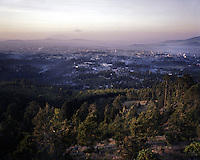 A view of  Ethiopia's capital Addis Ababa on tuesday November 5, 2009.