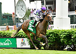 May 3, 2019 : Concrete Rose, trained by Rusty Arnold, wins the Edgewood (G3) at Churchill Downs on May 3, 2019 in Louisville, KY. Jessica Morgan/ESW/CSM