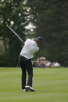 Bradley Dredge takes is 2nd Shot on the 2nd hole during the final round of the Irish Open on 20th of May 2007 at the Adare Manor Hotel & Golf Resort, Co. Limerick, Ireland. (Photo by Eoin Clarke/NEWSFILE)