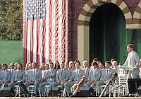 27 SEP 12  during Thursdays Opening ceremonies at The 39th Ryder Cup at The Medinah Country Club in Medinah, Illinois.