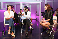 """LOS ANGELES - JUN 9:  Dawn Dunning, Corey Feldman, Sarah Findlay at the """"Famous""""  A Play By Michael Leoni - Talk Back Post Show Discussion at the The 11:11 Experience on June 9, 2019 in West Hollywood, CA"""