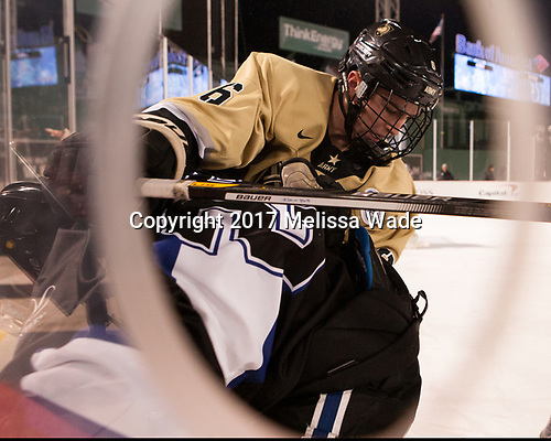 Nick DeCenzo (Army - 6) - The Bentley University Falcons defeated the Army West Point Black Knights 3-1 (EN) on Thursday, January 5, 2017, at Fenway Park in Boston, Massachusetts.The Bentley University Falcons defeated the Army West Point Black Knights 3-1 (EN) on Thursday, January 5, 2017, at Fenway Park in Boston, Massachusetts.