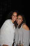 Alicia Keys and Tracie Thoms - Broadway's Stick Fly at the Cort Theatre, New York City, New York with after party at 48 Lounge with Alicia Keys and cast - Ruben Santiago-Hudson, Phylicia Rahad (Santa Barbara and OLTL) - mom of Condola (in cast) along with Tracie Thoms, Dulle Hill (Psych), Mekhi Phifer. (Photo by Sue Coflin/Max Photos)