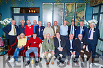 The Green Class 6B from 1969 enjoying a reunion in the Rose Hotel on Saturday night.<br /> Seated l to r: Lionel Dorrinton, Eoin Brosnan, Pat O'Daly, Eddie Barrett, Eddie McQuinn and Bartley Murphy.<br /> Back l to r: Pat and Dan McCarthy, Roy Dineen, Willie and David Nolan, Derry Healy, DJ Barry, Tice McNamara, George Sugrue, John Joe Maunsell and Michael J Fuller.