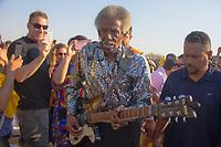 SAO PAULO, SP, 28.07.2018 – SHOW SP - O guitarrista Lil Jimmy Reed na quarta edição do festival BB Seguros de Blues e Jazz acontece em São Paulo, na tarde deste sábado (28) no Parque Villa-Lobos, zona oeste da capital. (Foto: Danilo Fernandes/Brazil Photo Press)