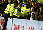 08.03.2019 Hibs v Rangers: Police go in to the Hibs support at half time