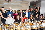 The Ashe Street Clinic Christmas staff Party at No.4 the Square Tralee on Saturday