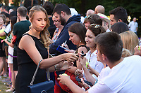 Anett Kontaveit at the Women's Tennis Association 's (WTA) Tennis on The Thames evening reception at OXO2, London, UK. <br /> 28 June  2018<br /> Picture: Steve Vas/Featureflash/SilverHub 0208 004 5359 sales@silverhubmedia.com