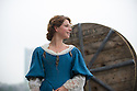 London, UK. 25.04.2014. Jessie Buckley (as Belvidera) in VENICE PRESERV'D, a site responsive production, by the Spectators' Guild, at Payne & Borthwick Wharf. Photograph © Jane Hobson.