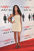 "Terri Seymour at the premiere of ""The Ugly Truth"" at the Cinerama Dome, Hollywood..July 16, 2009  Los Angeles, CA.Picture: Paul Smith / Featureflash"