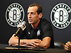 Brooklyn Nets Coach Kenny Atkinson speaks with the media at HSS Training Center in Brooklyn, NY on Tuesday, Sept. 18, 2018.
