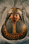 Mummy mask of Sennedjem, New Kingdom.