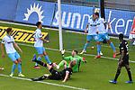 Uerdingens Kirchhoff Jan (Nr.4) bei seinem 0:2 beim Spiel in der 3. Liga, SV Waldhof Mannheim - KFC Uerdingen 05.<br /> <br /> Foto © PIX-Sportfotos *** Foto ist honorarpflichtig! *** Auf Anfrage in hoeherer Qualitaet/Aufloesung. Belegexemplar erbeten. Veroeffentlichung ausschliesslich fuer journalistisch-publizistische Zwecke. For editorial use only. DFL regulations prohibit any use of photographs as image sequences and/or quasi-video.