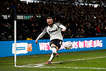 Wayne Rooney of Derby County takes a corner kick during the FA Cup match at the Pride Park Stadium, Derby. Picture date: 4th February 2020. Picture credit should read: Darren Staples/Sportimage