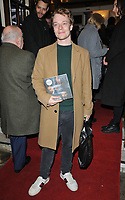 Alfie Allen at the &quot;Betrayal&quot; play press night, The Harold Pinter Theatre, Panton Street, London, England, UK, on Wednesday 13th March 2019.<br /> CAP/CAN<br /> &copy;CAN/Capital Pictures