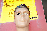 In Puerto Ayora Galapagos you also find window dummies