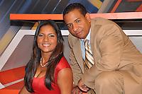 Los periodistas Anibelca Rosario y Pedro Jimenez, lanzan nuevo programa llamado Contacto Directo, que se transmite por telecentro.Ciudad: Santo Domingo.Fotos:  Carmen Suárez/acento.com.do.Fecha: 10/06/2011.
