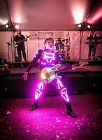 Bahama Beach Bash, Naples Music Festival featuring the group Powerhouse, benefits Garden of Hope & Courage, Naples, Florida, USA, April 6, 2014. Photo/debi pittman wilkey