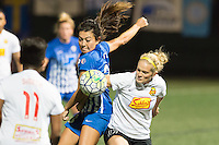 Allston, MA - Saturday Sept. 24, 2016: Brooke Elby, Kristen Hamilton during a regular season National Women's Soccer League (NWSL) match between the Boston Breakers and the Western New York Flash at Jordan Field.