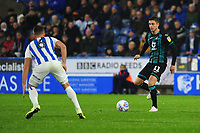 Kristoffer Peterson of Swansea City in action during the Sky Bet Championship match between Huddersfield Town and Swansea City at The John Smith's Stadium in Huddersfield, England, UK. Tuesday 26 November 2019