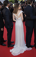 Lily Collins at the premiere for &quot;Okja&quot; at the 70th Festival de Cannes, Cannes, France. 19 May  2017<br /> Picture: Paul Smith/Featureflash/SilverHub 0208 004 5359 sales@silverhubmedia.com