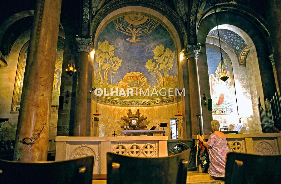 Igreja do Santo Sepulcro. Jerusalem. Israel. 1995. Foto de João Caldas.