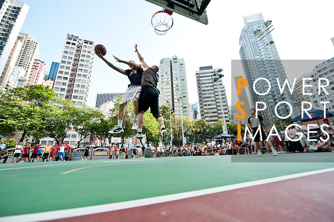 """Hong Kong qualifier of the Red Bull """"King Of The Rock"""" competition in Wan Chai, Hong Kong. Photo © Mike Pickles / Red Bull"""