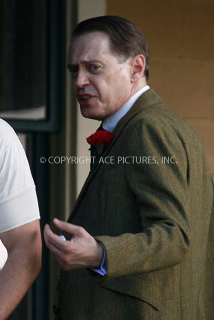 "WWW.ACEPIXS.COM . . . . . .August 17, 2011...New York City...Steve Buscemi  on the set of ""Boardwalk Empire""  on August 17, 2011 in New York City.....Please byline: CURTIS MEANS - ACEPIXS.COM.. . . . . . ..Ace Pictures, Inc: ..tel: (212) 243 8787 or (646) 769 0430..e-mail: info@acepixs.com..web: http://www.acepixs.com ."