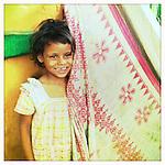 Girl in India.